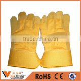 Durable Comfortable Machinist cheap Cow Split Leather Work Gloves CE EN388 Safety Gloves prices in china