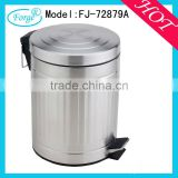 Popular using stainless steel pedal bin