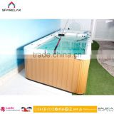 Factory Supply Outdoor Rectangular Swim Spa Pop-up TV Swim Spa Pool 8 - 12 Person Hot Tub Led Swimming Pool Light
