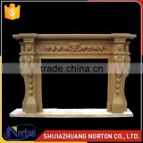 home ornaments cheap marble fireplace mantel NTMF-F516X