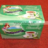 Chinese oolong slimming tea 2g *20 bags /box green tea with oolong slimming tea bags OEM to USA England canada Australia