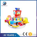 2017 So cute of amusement park rotate airplane game machine carousel coin operated kiddie rides for hot sale