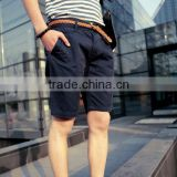Vintage style 2017 new brand summer men casual mens travel beach short pants silm fit cargo shorts overall polyester shorts