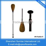 SUP Boards Bamboo Paddle Wholesale Wooden Paddle SUP Stand Up Paddle Board