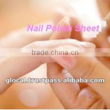 Don't miss this time Japan Nail Polish Sheet 4sheets/piece wholesale