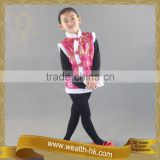 Chinese New Years kids Fur Trimming Vests