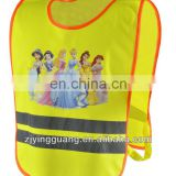 Safety Vest, Made of 100% Polyester Material with Reflective Tape and Customized Sizes Available