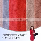factory wholesale twill type 45% wool 55% polyester women coat fabric, woven wool felt fabric