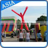 outdoor two legs air dancer with waving hands for event/holiday/park