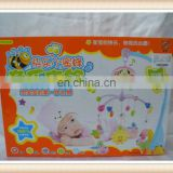 cute plastic baby bed bell