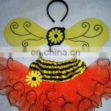 XGT11322 Bee Tutu Set Costume