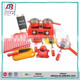Plastic Fashion Toys Kitchen Play Set Kitchen Toy Cooking Set For Kids