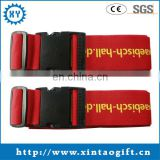 Personalized buckle luggage strap with adjustable