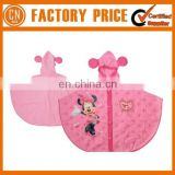High Quality Lovely Cheap PVC Kids Raincoat