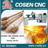 Top quality ce certification cnc woodworking lathe for wood honey stirrer honey bar