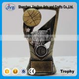 Silver golden basketball trophy Creative resin decoration Wholesale of Arts and crafts