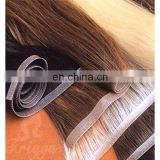 Brazilian human hair xuchang hand tied weft hair extension