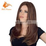 Fashion Style Best Quality Glueless Virgin Hair Full Hand Tied Human Hair Lace Wig