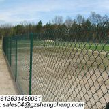 Eco friendly fence galvanized 50mm wire mesh for football field