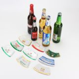 Customized for Your Own Brand Embossed Aluminum Beer Bottle Neck Foil Label