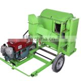 Large capacity rice thresher machine with high efficiency for hot selling