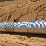 Intergral corrugated steel pipe  corrugated metal culvert