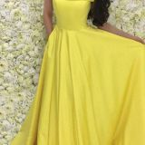 Yellow Prom Dresses 2018