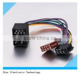 Replacement BMW black 16 pin vehicle iso connector audio stereo wire cable harness