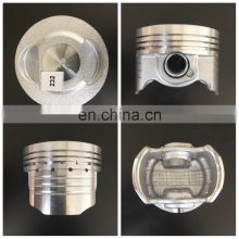 Motorcycle Piston Kit Casted Piston OEM Quality for TVS STAR CITY 110CC