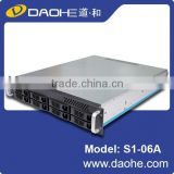 2u 8 bays hotswap Server case / rackmount chassis / storage rack case with power supply