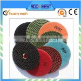flexible angle grinder polishing pad
