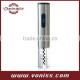 Automatic Electric Wine Opener in Stainless Steel with LCD Temperature and Power Display
