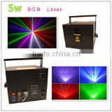 2016 high power 3W RGB full color animation laser 3D stage light/ Led moving head laser DJ ,stage light