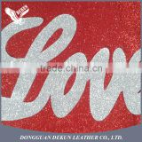 China best sale Decorative glitter satin fabric sheet