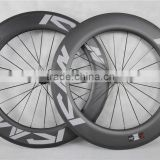 Powerway R13 hub carbon road rims 700C Bike Road Carbon wheels UD Matt carbon road bike whels with ICAN logos W86C