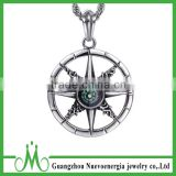 316I stainless steel steering wheel pendant best selling mens necklace wholesale