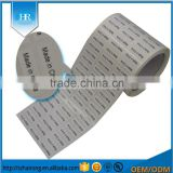 Customized Coated Paper Glossy White Blank Barcode Sticker Printing Wholesale China Manufacturer