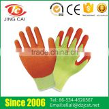 Wholesale Knitting Cuffs 10G Safety Industrial Latex Glove
