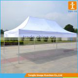Custom advertising banner canopy aluminum frame pop up tent