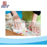 HDPE, LDPE Disposable PE Glove Food handling clear disposable LDPE PE plastic glove