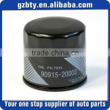 Oil filter fits for Prado HILUX CARMY FORTUNER HIACE COSTER PREVIA 4RUNNER INNOVA LEXUS RX300 OE # 90915-20003