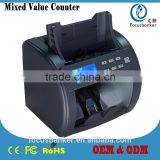 Currency Counter/Money Detector/Bill Sorter/Banknote Counting Machine with CIS for South African rand(ZAR)