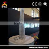 scale architectural building model 3D drawing models