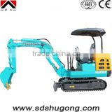 compact excavator / 2.2T mini excavator / hydraulic crawler excavator/Electrical Mini excavator/cheapest mini digging machine