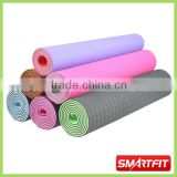 2 color TPE Yoga mat aerobic accessories