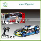 High speed car toy remote control vehicle rc car 1:10
