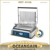 HET-815A sandwich press panini grill for catering