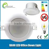 CE RoHS New delicate design 3000k cob New Delicate External Driver high quality Modern RA80 10w smd230v led downlights