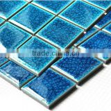 WT19 blue ceramic tiles swimming pool tiles for sale ceramics decorated for kitchen                                                                         Quality Choice