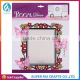 Beautiful design adhesive decor wall mirror sticker for wall decoration